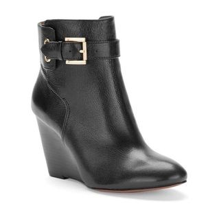 Nine West Shoes - Nine West Zapper Wedge Ankle Boots
